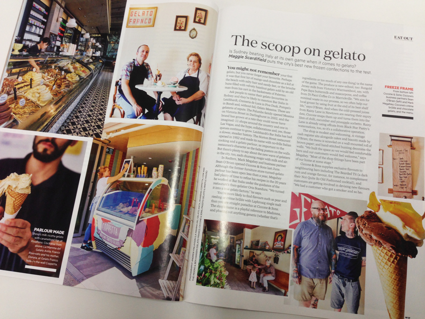 Italian language courses Sydney at Italia 500 - The scoop on gelato Page 1