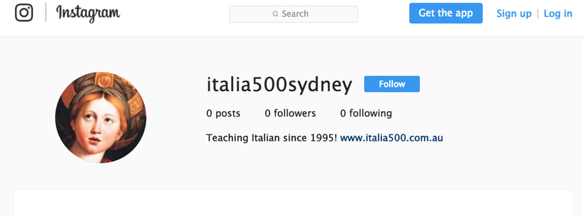 Italian lessons Sydney Italia 500 Follow Italia 500 on Instagram